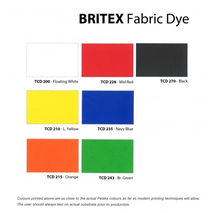 BRITEX T/C FABRIC DYE 200ml