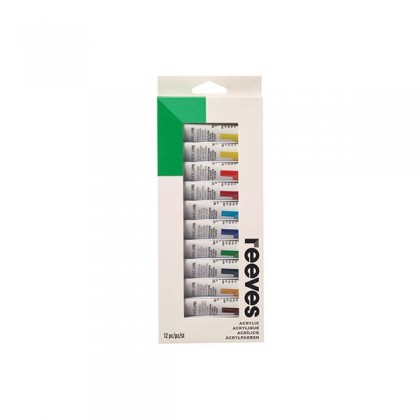 REEVES ACRYLIC COLOR PAINT 10ml TUBE SET